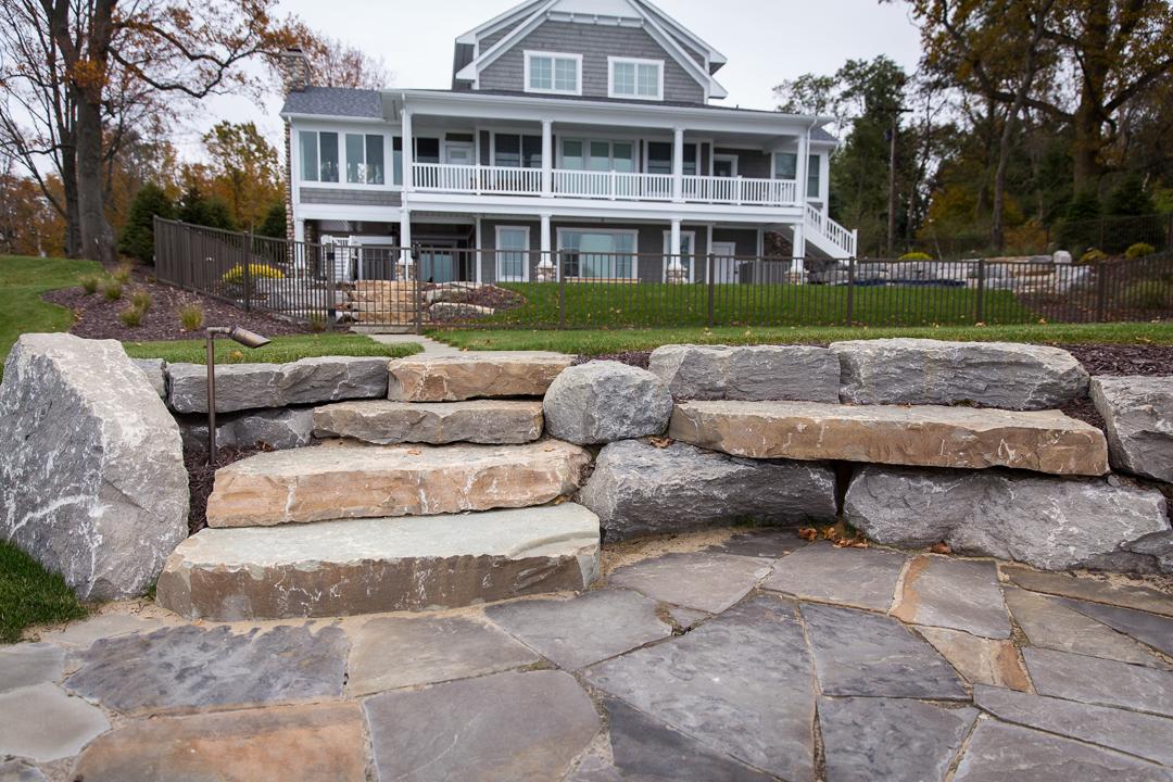 Stone And Concrete Patios U0026 Walkways