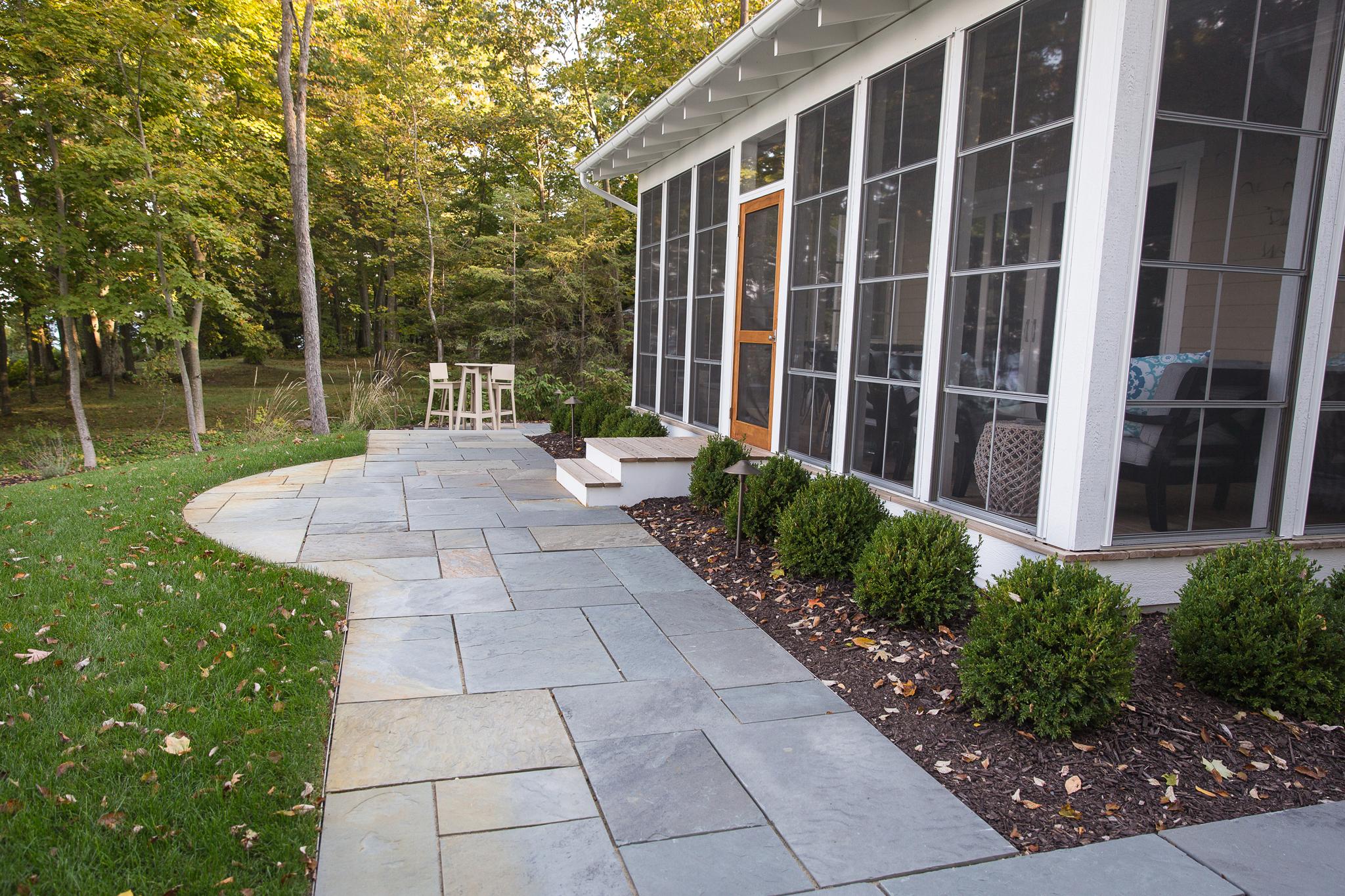 backyard patios u0026 walkway ideas essex outdoor design